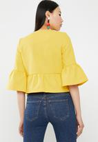 Vero Moda - Miss short jacket - yellow