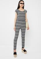 ONLY - Nova jumpsuit- black & white