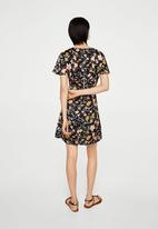 MANGO - Floral print dress - multi