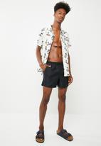 Brave Soul - Sparks swim shorts - navy