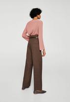 MANGO - Flared sleeve jumper - pink
