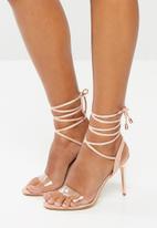 Superbalist - Talia lace up heel - pink