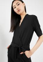 Jacqueline de Yong - Honey jumpsuit - black