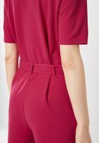 Jacqueline de Yong - Honey jumpsuit - red