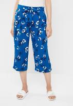 Jacqueline de Yong - King belted culottes - blue