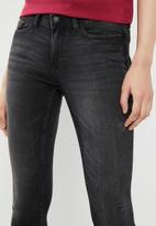 Jacqueline de Yong - Skinny regular jake ankle jeans - grey
