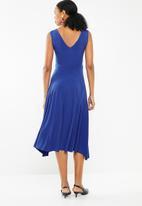 STYLE REPUBLIC - Frill detail dress - blue