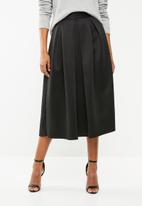 Superbalist - Midi Scuba skirt - black