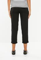 Superbalist - Soft tapered pants - black