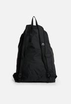 RVCA - Drawcord backpack - black