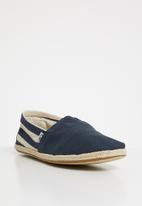 Toms - University classic slip on - navy stripe