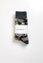 Superbalist - 3 pack camo socks - multi