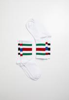 Superbalist - 3 pack sport socks - white