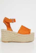 Superbalist - Cassie espadrille flatform - orange