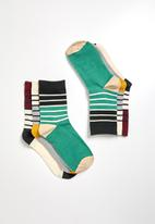 Superbalist - 3 pack stripe socks - multi