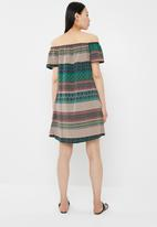 c(inch) - Bardot dress - green