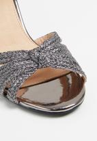 Superbalist - Josie woven heel - silver