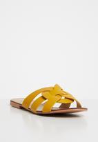 Superbalist - Ayla sandal - yellow