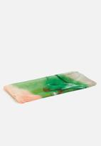 G Couture - Printed scarf - green