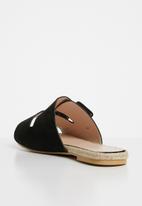 Superbalist - Sienna espadrille sandal - black