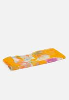G Couture - Flower print scarf - yellow