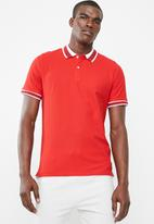 Only & Sons - Benjamin polo - red