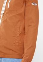 Only & Sons - Hooded windbreaker jacket - brown