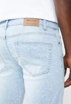 Only & Sons - Bleach loom jeans - blue