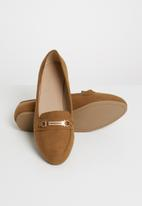 New Look - Jimmy wider fit loafer - tan