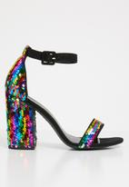 New Look - Riches sequin - black