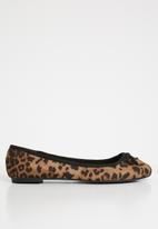 New Look - Wide fit leopard - brown