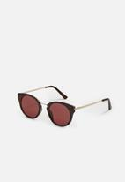 MANGO - Contrasting sunglasses - brown