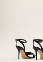 MANGO - Bow detail heels - black