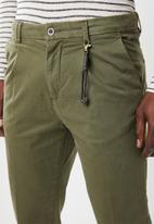 Jack & Jones - Ace milton tapered fit chino - green