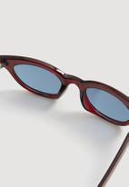 MANGO - Frame sunglasses - red