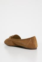 New Look - Linked loafer - tan