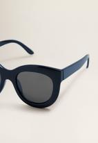 MANGO - Frame sunglasses - blue
