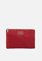 MANGO - Zipped cosmetic bag - red