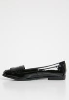 New Look - Wide fit james - black