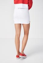 Supré  - The tyra skirt - white