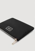 MANGO - Zipped cosmetic bag - black