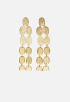 MANGO - Pendant earrings - gold