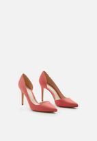 MANGO - Audrey heels - coral