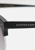 Kapten & Son - Capri Matt Black -Silver Gradient