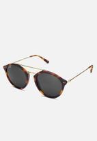 Kapten & Son - Fitzroy tortoise sunglasses - black & brown