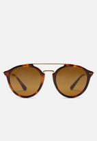 Kapten & Son - Fitzroy tortoise sunglasses - brown