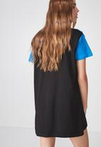 Factorie - T-shirt dress - blue