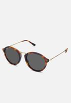 Kapten & Son - Maui tortoiseshell sunglasses - black