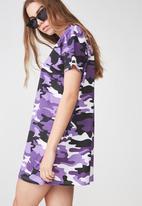 Factorie - T-shirt dress - purple