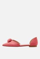 MANGO - Pom pom detail shoes - pink